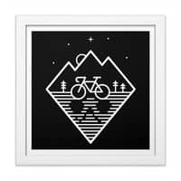 Bike Dreams - white-square-framed-print - small view