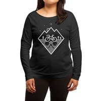 Bike Dreams - womens-long-sleeve-terry-scoop - small view