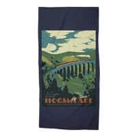 Visit Hogsmeade - beach-towel - small view