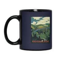 Visit Hogsmeade - black-mug - small view