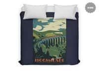 Visit Hogsmeade - duvet-cover - small view