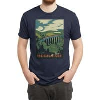 Visit Hogsmeade - mens-triblend-tee - small view