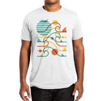 SUN, WAVES, and BITES - mens-extra-soft-tee - small view