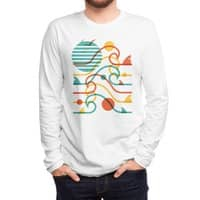 SUN, WAVES, and BITES - mens-long-sleeve-tee - small view