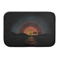 Sound Of Summer - bath-mat - small view