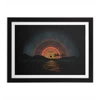 Sound Of Summer - black-horizontal-framed-print - small view