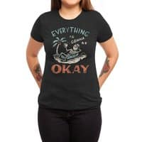 Okay - womens-triblend-tee - small view