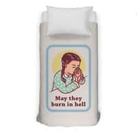 Burn in Hell - duvet-cover - small view