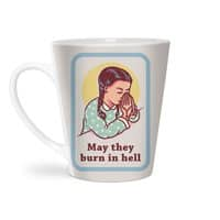 Burn in Hell - latte-mug - small view