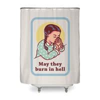 Burn in Hell - shower-curtain - small view
