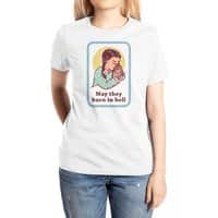 Burn in Hell - womens-extra-soft-tee - small view