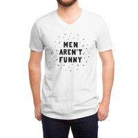 Men Aren't Funny - vneck - small view