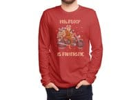 Mr. Foxie is Fantastic! - mens-long-sleeve-tee - small view