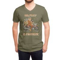 Mr. Foxie is Fantastic! - vneck - small view