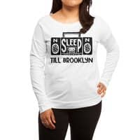 Retro Radio - womens-long-sleeve-terry-scoop - small view