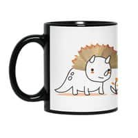 Tiny Triceratops - black-mug - small view