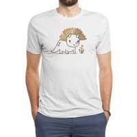 Tiny Triceratops - mens-triblend-tee - small view