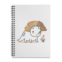 Tiny Triceratops - spiral-notebook - small view