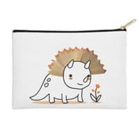Tiny Triceratops - zip-pouch - small view