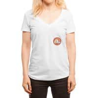 Small Fortune - womens-deep-v-neck - small view