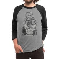 The first Commandment of the Internet - triblend-34-sleeve-raglan-tee - small view