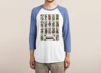 The Social Network Tarots - triblend-34-sleeve-raglan-tee - small view