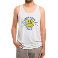 Smile High Club - mens-triblend-tank - small view