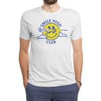 Smile High Club - mens-triblend-tee - small view
