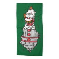 It is in the bushes - beach-towel - small view