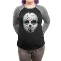 Friday Night Terror - triblend-34-sleeve-raglan-tee - small view