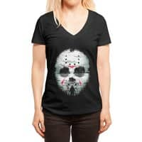 Friday Night Terror - womens-deep-v-neck - small view