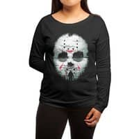 Friday Night Terror - womens-long-sleeve-terry-scoop - small view