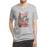 Tiki Surf Witches Want Blood - vneck - small view