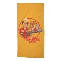 Eat Your Worries - beach-towel - small view
