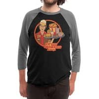 Eat Your Worries - triblend-34-sleeve-raglan-tee - small view