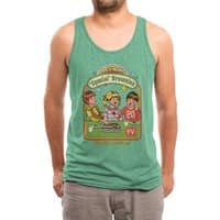 Let's Make Brownies - mens-triblend-tank - small view