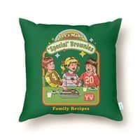 Let's Make Brownies - throw-pillow - small view