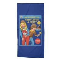 Who Gives a Sh*t? - beach-towel - small view