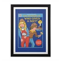 Who Gives a Sh*t? - black-vertical-framed-print - small view