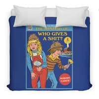 Who Gives a Sh*t? - duvet-cover - small view