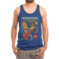 Who Gives a Sh*t? - mens-triblend-tank - small view