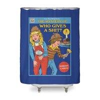 Who Gives a Sh*t? - shower-curtain - small view