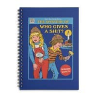 Who Gives a Sh*t? - spiral-notebook - small view