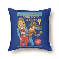 Who Gives a Sh*t? - throw-pillow - small view