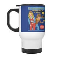 Who Gives a Sh*t? - travel-mug-with-handle - small view