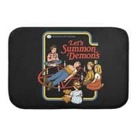 Let's Summon Demons (Black Variant) - bath-mat - small view
