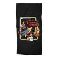 Let's Summon Demons (Black Variant) - beach-towel - small view