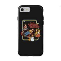 Let's Summon Demons (Black Variant) - double-duty-phone-case - small view