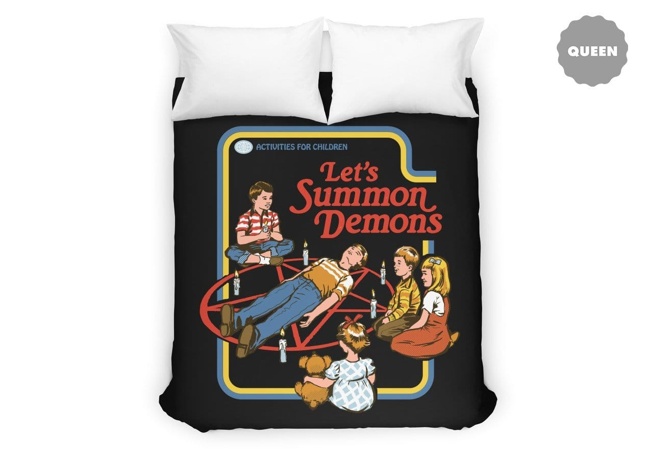 Let S Summon Demons Black Variant By Steven Rhodes
