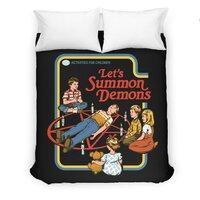 Let's Summon Demons (Black Variant) - duvet-cover - small view